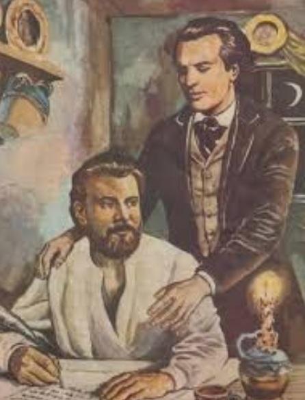 """Eminescu și Creangă, """"frații"""" care au chefuit cu povești porcoase, au băut până în zori și s-au stins din viață, la câteva luni distanță, de durere"""