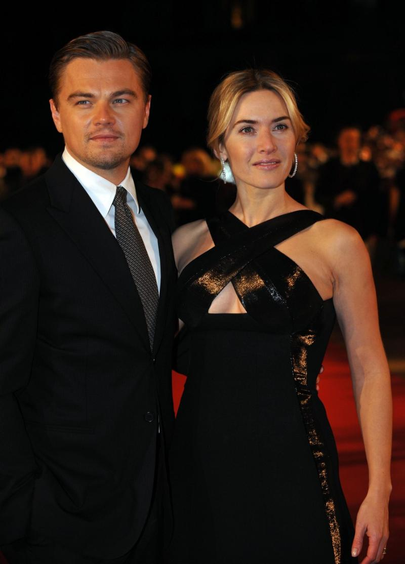 Leonardo DiCaprio și Kate Winslet