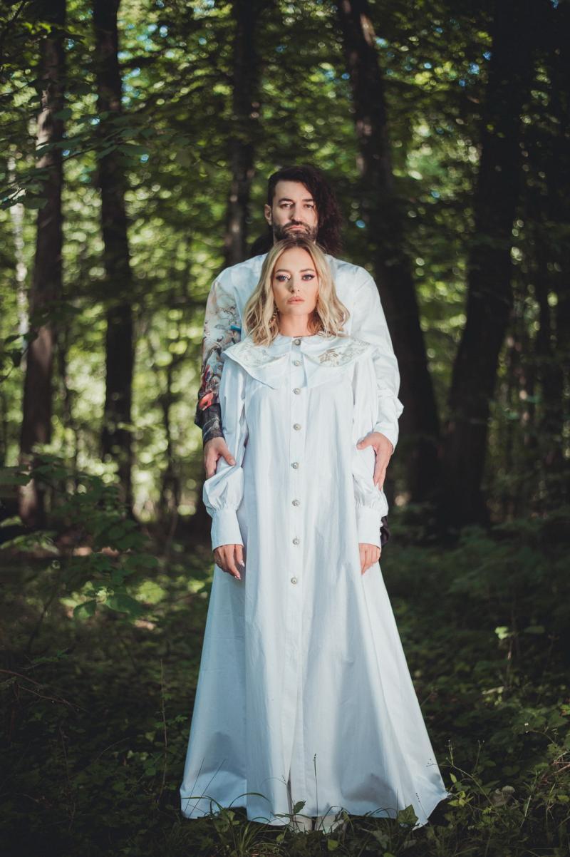 Smiley și Delia, imagini de la filmarea videoclipului piesei Ne Vedem Noi