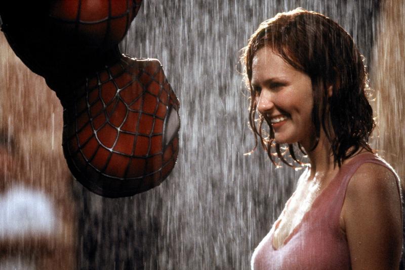 Scena celebrului sărut din ''Spiderman''