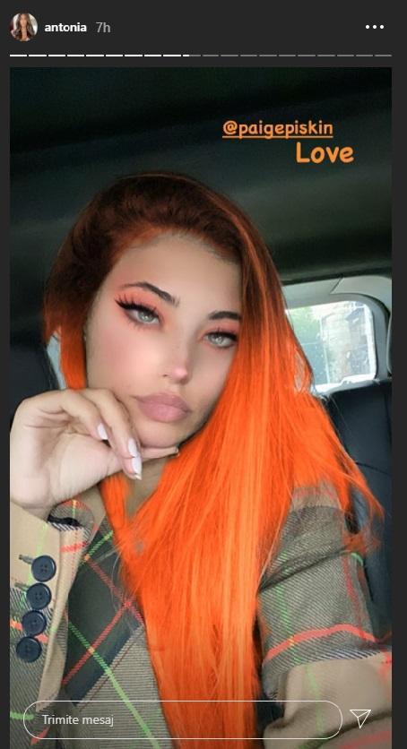 Cum arată Antonia cu părul portocaliu! Vedeta și-a surprins fanii cu imagini ieșite din comun