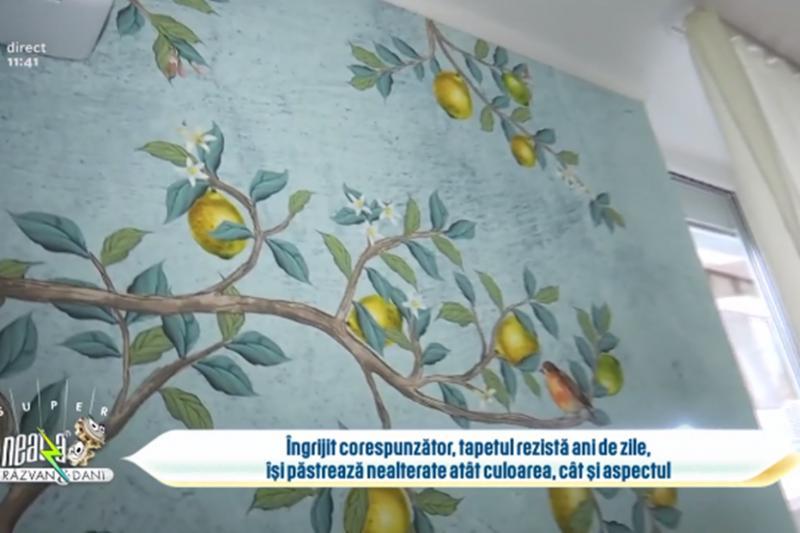 Tapetul din nou la modă pentru locuințe. Cum alegem tapetul și care sunt avantajele tapetului?