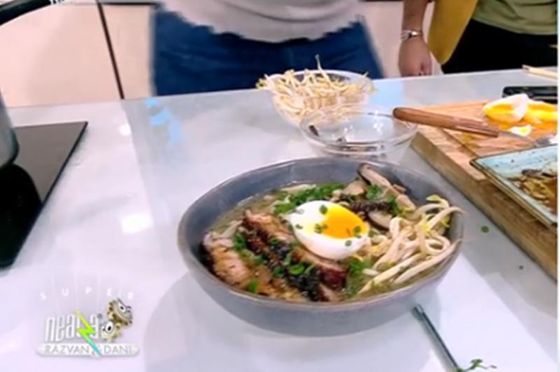Rețetă de supă japoneză Ramen, gătită de Chef Nicolai Tand, la Neatza cu Răzvan și Dani