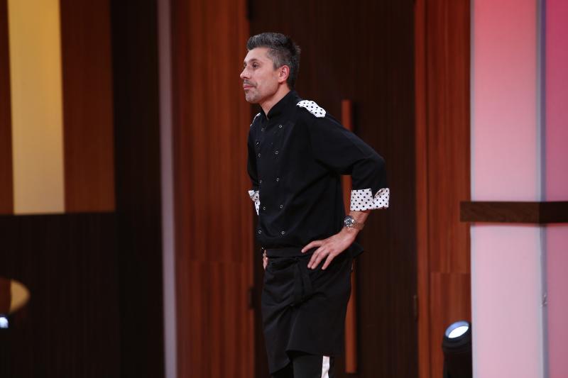 """Alberto Chelu este concurentul eliminat în ediția 38 din sezonul 8 al emisiunii """"Chefi la cuțite"""""""