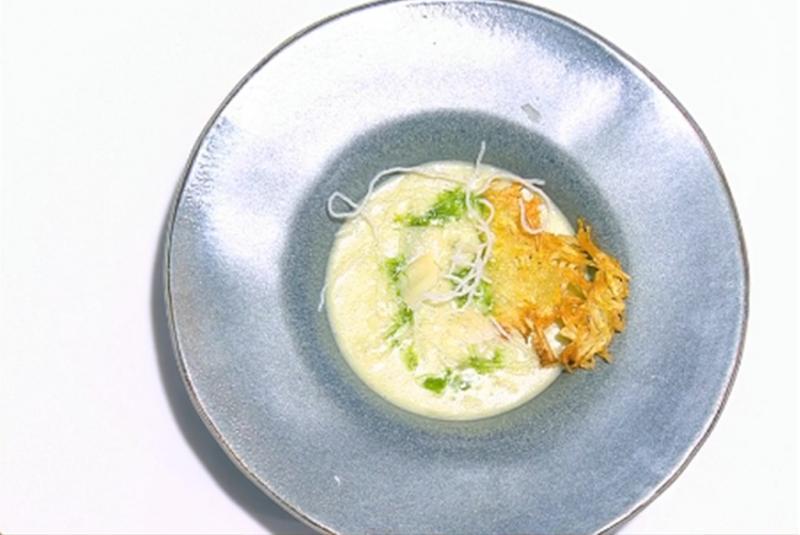 Rețetă de supă cremă de cartofi cu praz, gătită de Nicolai Tand la Neatza cu Răzvan și Dani