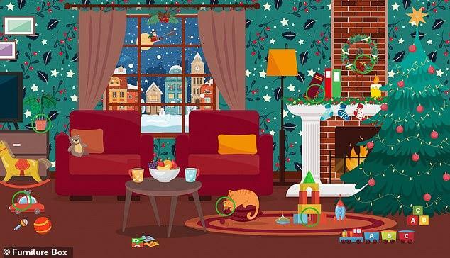 Provocare de iarnă! Reușești să găsești cele 6 cadouri ascunse în poze, în mai puțin de 90 de secunde? Vezi unde se află fiecare