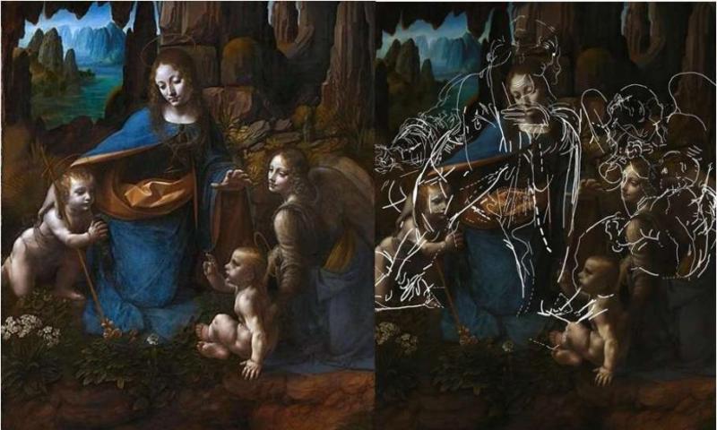 Secretul a fost descoperit! Ce mesaj a ascuns Leonardo da Vinci într-o celebră pictură? Sute de ani a stat ascuns