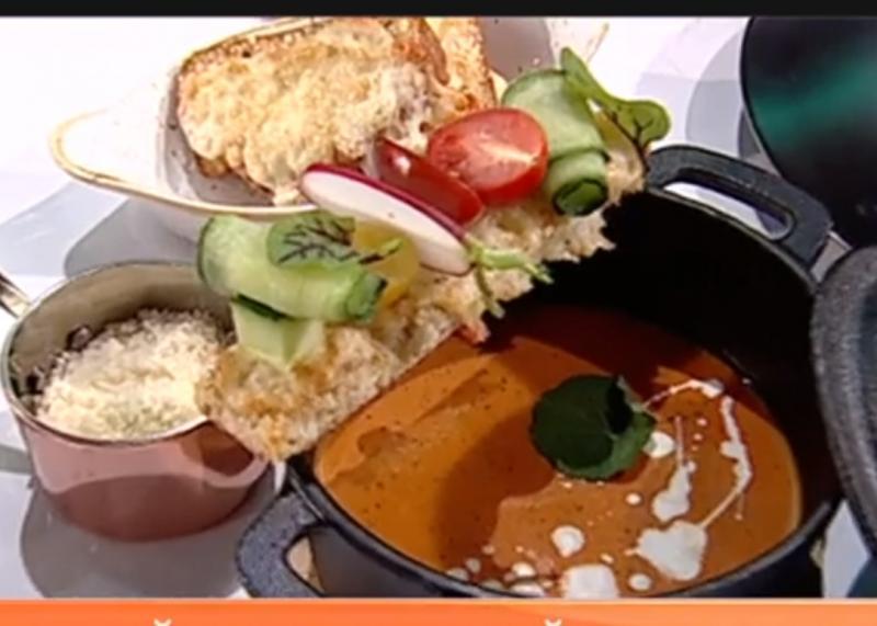 Reţetă simplă de post: Supă cremă de roșii cu ardei copți - Rețeta lui Chef Munti