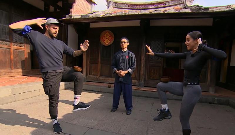 """""""N-ai zis că ești Jackie Chan și ai șapte ani de ninja?!"""". Răzvan Fodor a cedat! Finaliștii Asia Express se întrec la arte marțiale"""