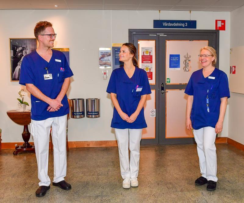 Prințesa Sofia a Suediei, voluntar în prima linie împotriva coronavirusului! Face treabă de infirmieră: schimbă paturile, ajută la bucătărie și face curățenie