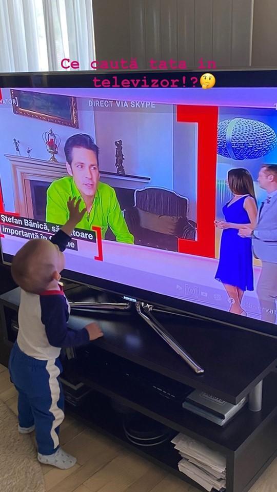 Cum arată fiul cel mic al lui Ștefan Bănică? Lavinia Pîrva a făcut publică prima imagine cu Alexandru, la aniversarea de 1 an