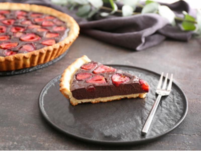 Rețetă de desert cu căpșuni. Rețetă de tartă cu ciocolată și căpșuni