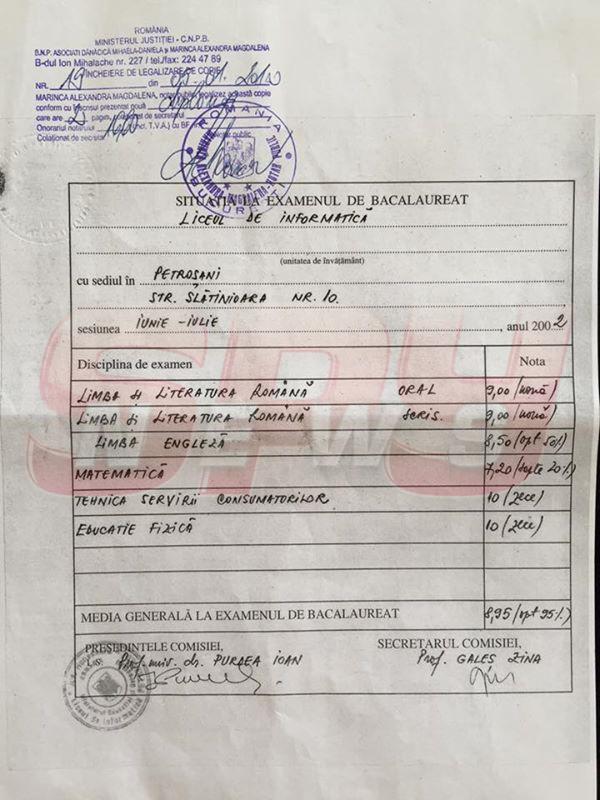 """Bianca Drăguşanu a arătat diploma de BAC! Cu ce notă a luat examenul: """"Secretul nu mai e secret"""""""