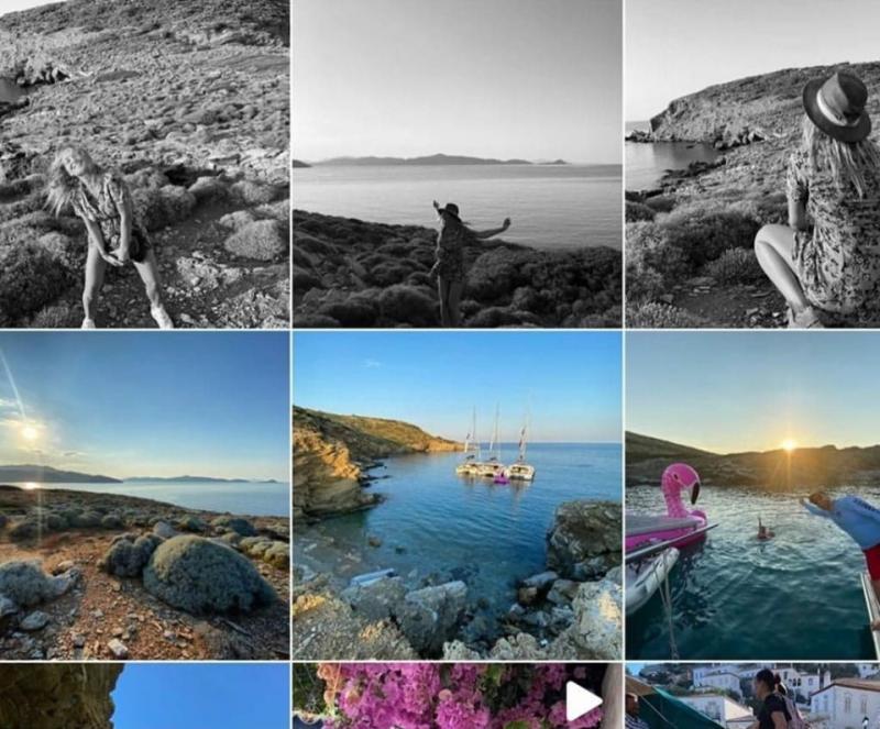 Imagini din vacanța Deliei! Cum arată paradisul unde se răsfață frumoasa artistă!   Galerie Foto