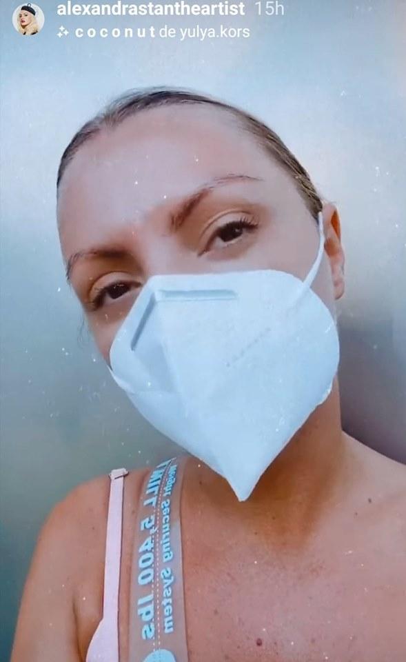 Alexandra Stan, testată pentru coronavirus! Cum se simte acum vedeta!