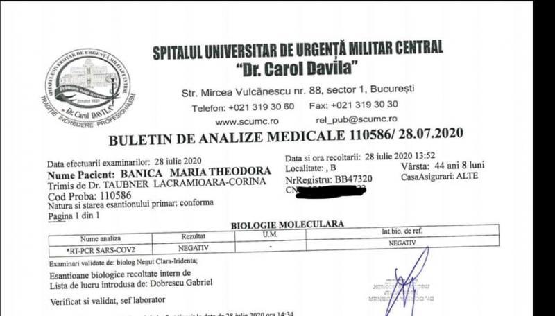 Mara Banică, al doilea test de coronavirus! Care este rezultatul primit de jurnalistă!