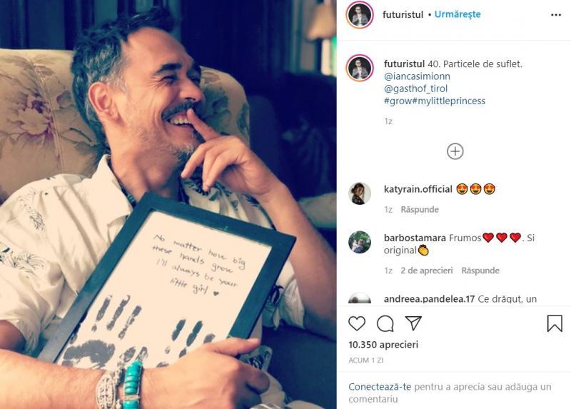 Surpriză uriașă pentru fanii lui Răzvan Simion! Ce mesaj de iubire a apărut pe Instagram