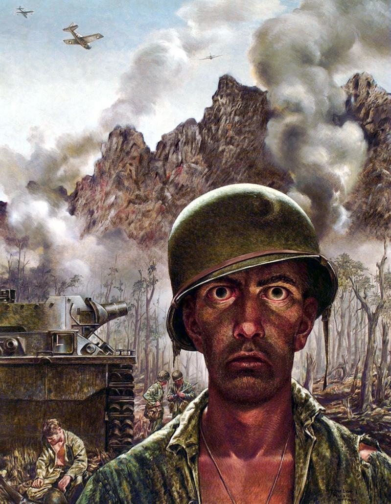 Așa arată fața războiului! Între cele două imagini e o distanță de patru ani. Petrecuți pe front!