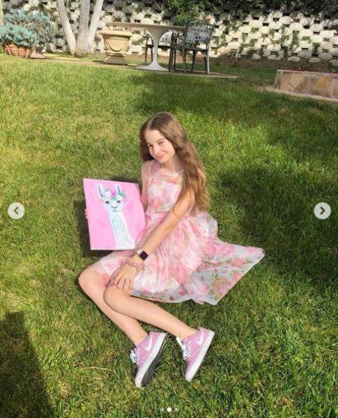 Fiica Monicăi Gabor și a lui Irinel Columbeanu, cuceritoare la 13 ani! A ajuns o adevărată vedetă, pe Instagram   Foto