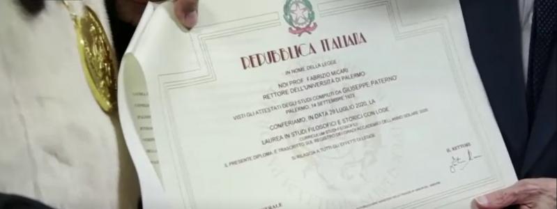 Șef de promoție la 96 de ani! Bătrânul este cel mai în vârstă absolvent de facultate din Italia | Foto