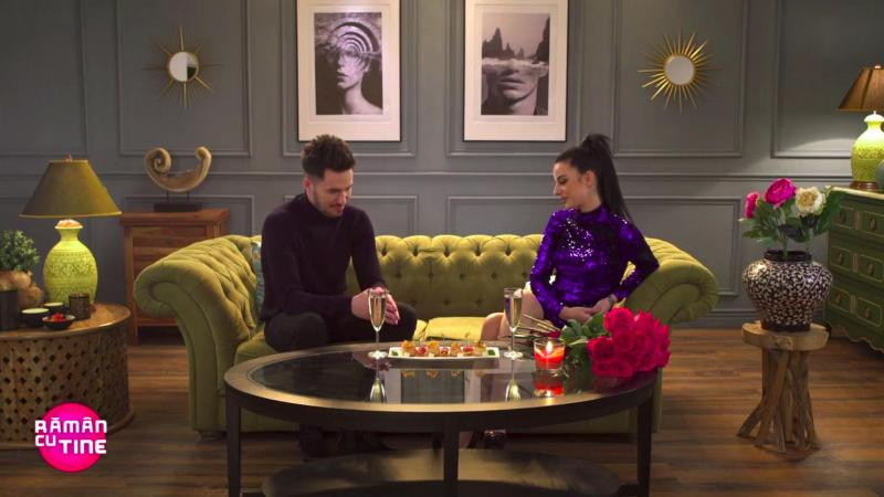 """Cum arată dragostea la prima vedere? Ana și Marinel au trăit o surpriză uriașă la emisiunea """"Rămân cu tine"""": """"Am simțit-o"""""""