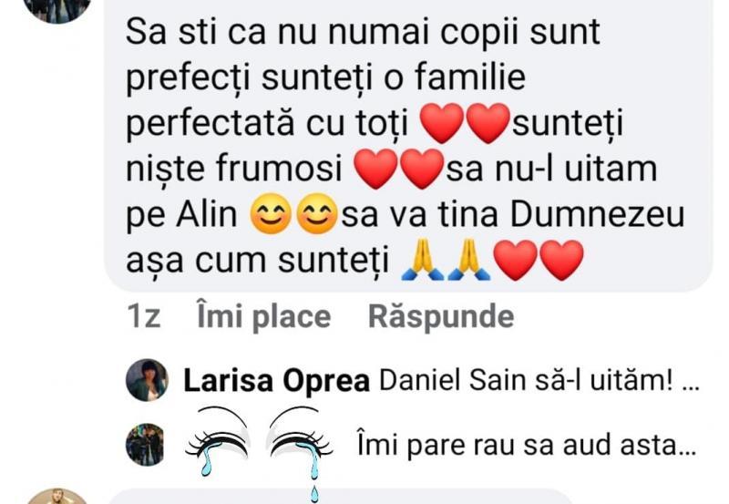 """Larisa, soția lui Alin Oprea, a confirmat pe Facebook despărțirea dintre cei doi! """"Să-l uităm"""""""