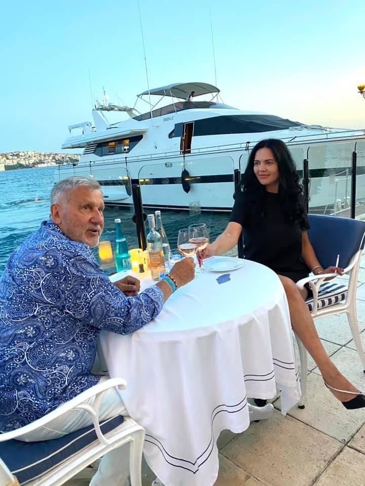 Imagini din luna de miere a Ioanei și a lui Ilie Năstase! Unde își petrec vacanța, la două luni de la nuntă! |Foto