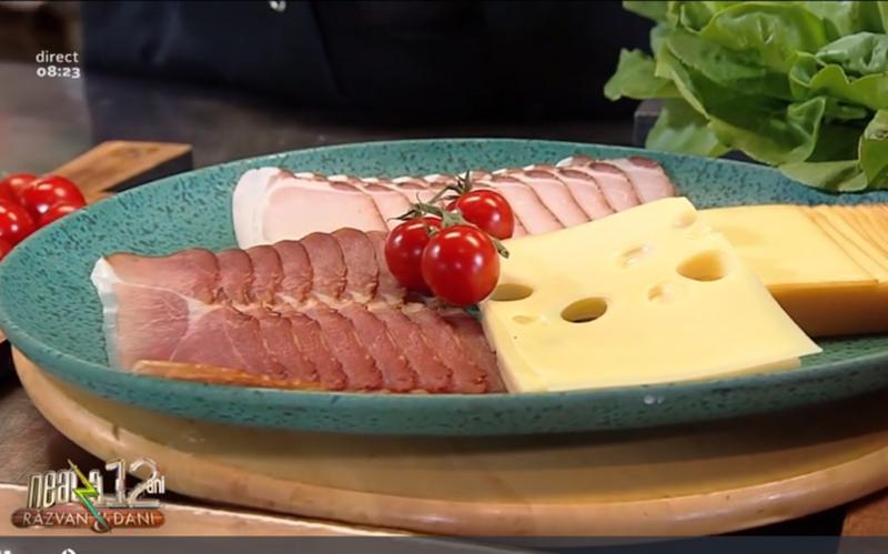 Reţeta de mic dejun din bucătăria lui Vlăduț: Baghetă bavareză