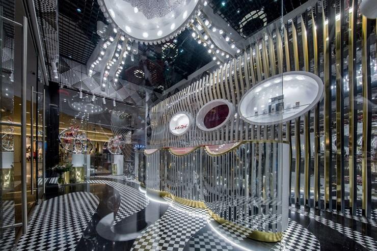 Locația Sabion din Iulius Mall Cluj Napoca - finalistă la marele concurs internațional de design interior SBID, în urma unei investiții de peste 80.000 euro
