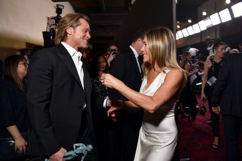 Reuniunea foștilor soți: Jennifer Aniston și Brad Pitt s-au regăsit!