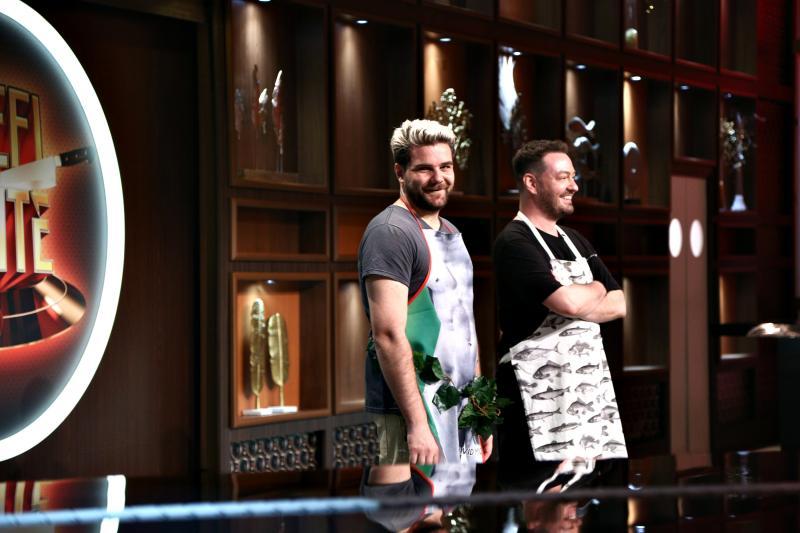 Surpriza pregătită de Alex Abagiu și Radu Vlăduț, la Chefi la cuțite! Ce au găsit chefii în farfurie