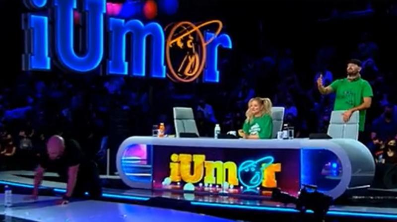 """Moment de senzație la """"iUmor""""! Delia și Mihai Bendeac dansează pe pupitru și fac show"""