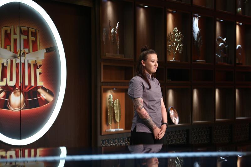 """Roxana Blenche, surpriza sezonului 8 """"Chefi la cuțite""""! Ce i-au zis Bontea, Scărlătescu și Dumitrescu"""