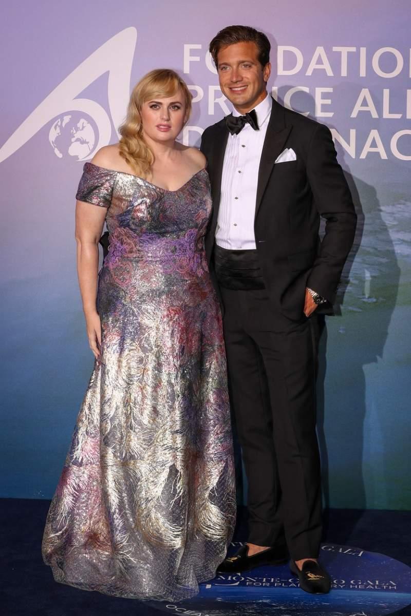 Rebel Wilson și Jacob Busch, noul ei iubit, la Gala Sănătății Planetare a Prințului Albert