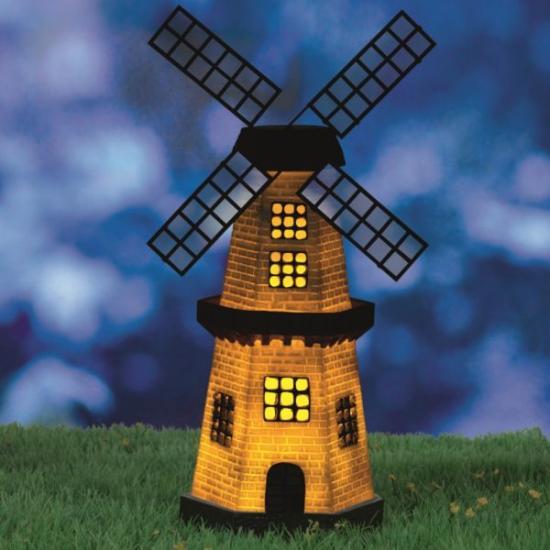 Solar Power Windmill