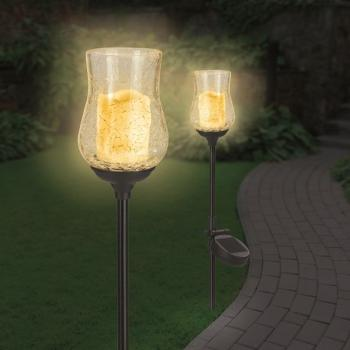 Solar Power Candle