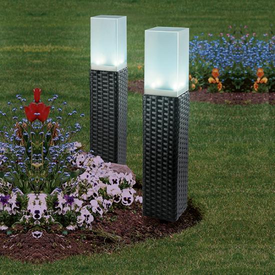 Solar Power Rattan