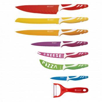 Set 8 cuțite cu înveliș ceramic