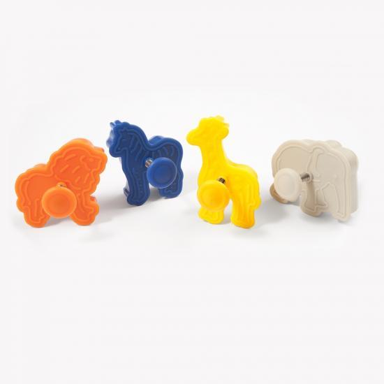 Set 4 forme animale