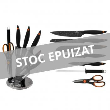 Set de cuțite cu suport