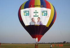 Doar la Radio ZU, vezi Bucurestiul din balon!