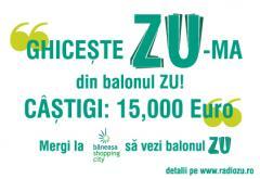 Radio ZU lanseaza duma, tu ghiceste Zu-ma! Castiga 15,000 de euro cu Radio ZU
