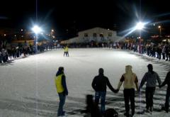 Am facut cel mai mare tren de oameni pe patine din Romania. Va multumim!