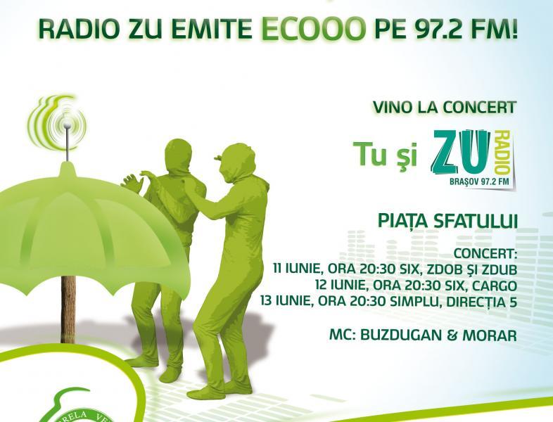 Radio Zu emite eco la Brasov