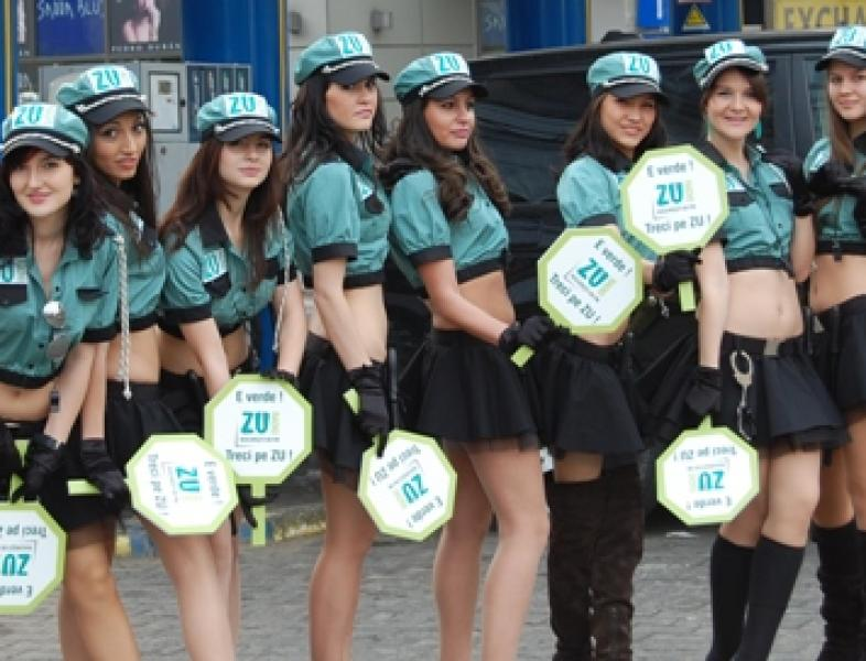 Brigada Sexy in intersectii. A treia zi