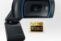 Vrei cea mai tare camera Full HD Logitech? Asculta ZU si  poate fi a ta.