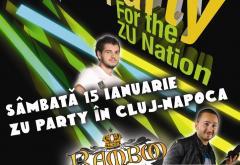 Sambata ai ZU Party in Cluj Napoca. Adi Mihaila si Emil Lassaria
