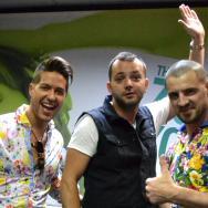 Jorge și Pavel Stratan cântă live în studioul ZU