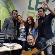 Andra cântă live în studioul ZU