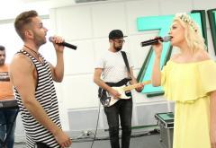 """PREMIERĂ: Jo și Randi cântă """"Până vara viitoare"""" în studioul ZU"""